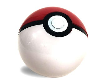 Pokemon Pokeball Working Toy Prop Opens Real Trainer Poke Ball Cosplay Ash Ketchum Pikachu Original Go Red White Costume Gift High Quality