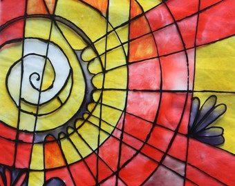 Glass Painting.Indian Art,Local Art, Painting, Music Art