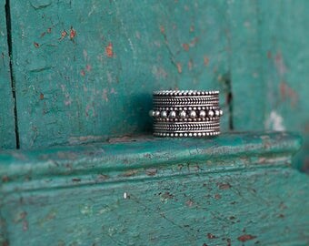 Silver Ring Dot / Bague en Argent