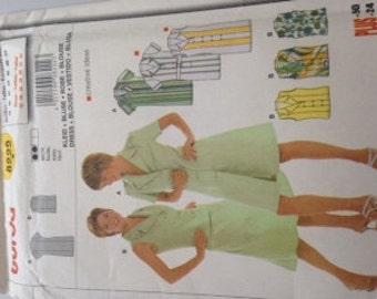 Basic buttondown dress