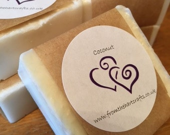 Hand made Coconut soap
