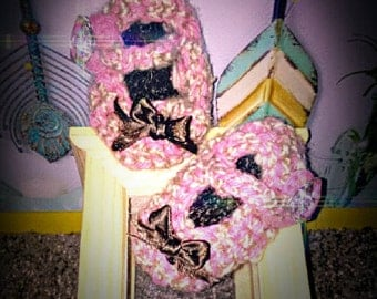 Sassy Slippers ' Tickled Pink""