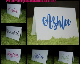 Name Cards (set of 10 w/ envelopes)