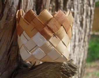 Birch Bark Basket