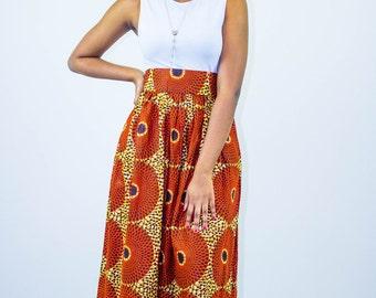 Maxi Skirt, africa Maxi Skirt, african prom dress, african fabric,ankara fabric, ankara dress, ankara skirt, ankara clothing