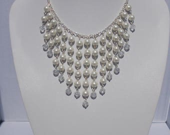 Stunning Graduated Pearl Necklace
