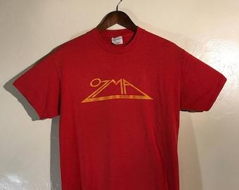 Ozma Band Classic Red T Shirt