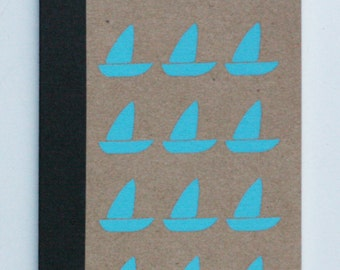 libreta barca, sailboat notebook
