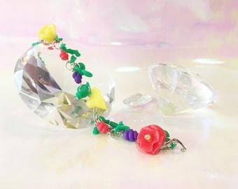 Colorful Bright Flower Bracelet