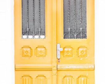Yellow Door Digital Prints, Photography, Travel Art Home Decor, Prague