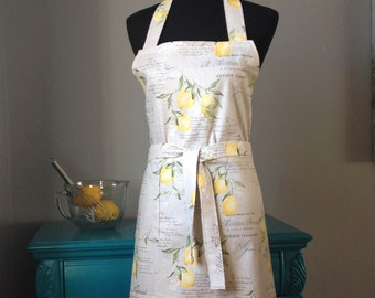 Zesty Lemon Apron