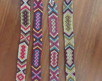 Brazilian bracelet woven and colorful