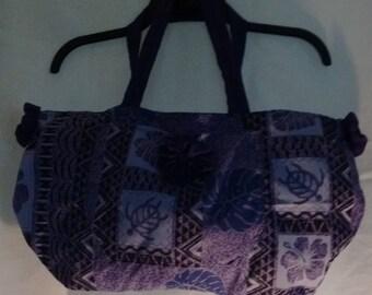 Hawaiian Bag Purple Queen