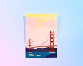 Golden Gate, San Francisco Print
