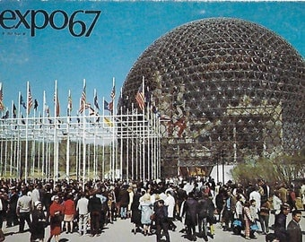 Vintage Postcard: Expo 67 in Montreal, Canada