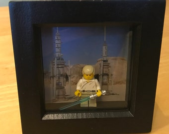Star Wars - Luke Skywalker Lego figure in frame