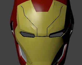 Iron Man MK46 Helmet Civil War 3d file