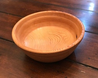 Reclaimed Barn wood Hand Turned Bowl