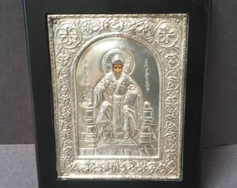 Byzantine art from Greece, made with pure silver