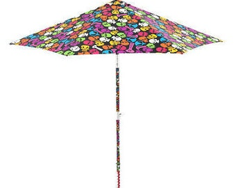 Electric Beach Umbrella that It settler in the Sand with a Click ! Model Tesk