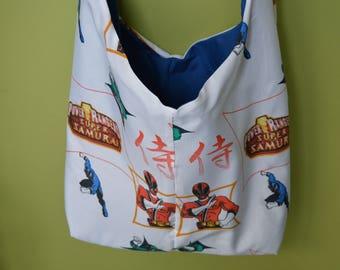 Power Rangers Hobo Bag