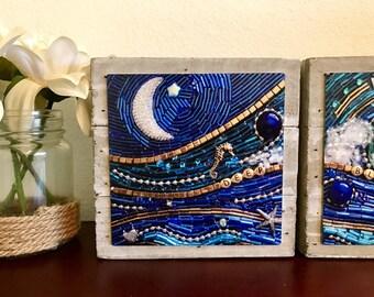 Deep Blue Sea art blocks