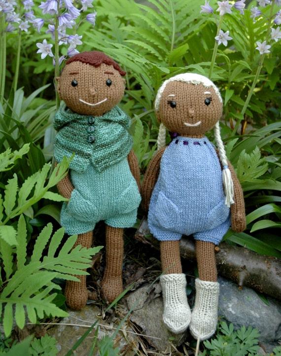 Mini Elf Knitting Pattern : Wood-Elf Doll Knitting Pattern