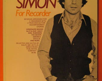 Paul Simon for Recorder