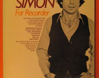 Paul Simon for Recorder