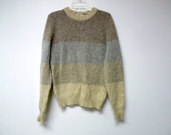 """Lord Jeff . wool sweater . fits like a medium . 38"""" bust . made in USA"""