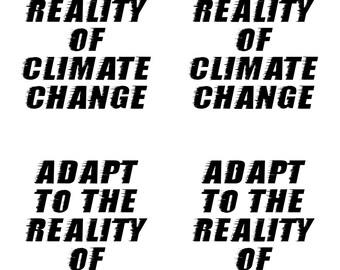 instant download postcard climate change political postcard protest resist