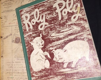 1956 Roly Poly Book
