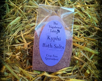 kyphi bath salts