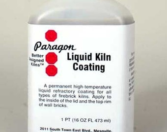 Liquid Kiln Coating , 16 Ounces