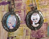 Reserved for Tara - Custom Made Art Necklaces