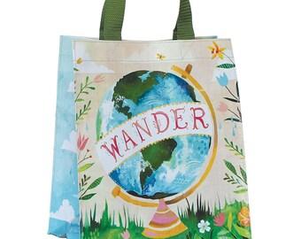 Wander Reusable Tote Bag | Small Grocery Bag