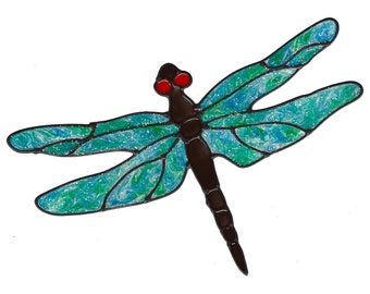 Dragonfly Window Cling Set - Blue/Green