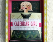 2017 Calendar Girl #427 of 500 - Blonde with Earrings