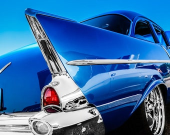 Chevrolet One-Fifty Car Photography, Automotive, Auto Dealer, Classic, Sports Car, Belair, Mechanic, Boys Room, Garage, Dealership Art