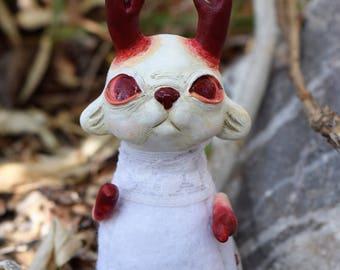Stinkhorn Shroompup - OOAK Art Doll
