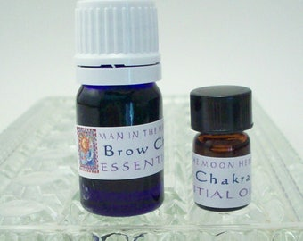 Brow Chakra Essential Oil - 5/8 Dram or 5 mL - Aromatherapy Diffuser Oil - Chakra Balancing