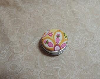 Pink Flower Tooth Fairy Box / Trinket Box / Pill Box