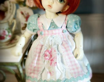 Rosie Sweet Outfit Set for Fairyland Littlefee bjd abjd tiny