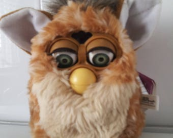Vintage Tiger Electronics ORIGINAL FURBY Brown GIRAFFE Spotted 70-800