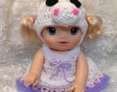 Clothes For 14 Inch Dolls . Unicorn Dress Set