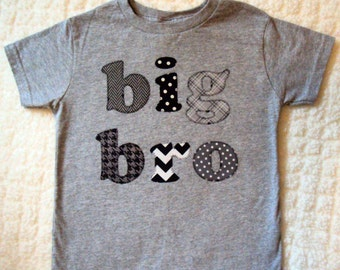 Big Brother Shirt - Little Brother Shirt- Lil Bro Shirt- Big Bro Shirt -Sibling Shirts- big brother