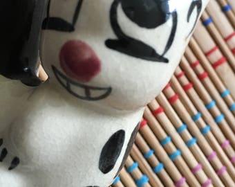 Vintage Porcelain Chipmunk:  Derp Face, R