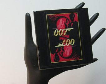 007 Limited Edition Collector Card Drink Coaster