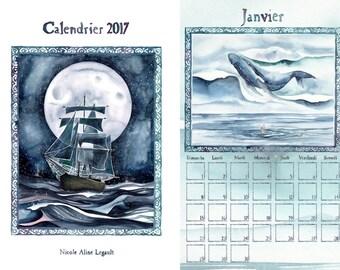 2017 Other Worlds Calendar