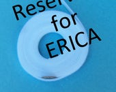 Super Thin Velcro, White Velcro Reserved for Erica